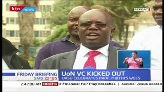 University of Nairobi Vice Chancellor Professor Mbithi's re-appointment not sustained
