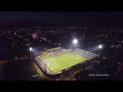 """""""Copa Sudamericana 2016 Recibimiento a  Luque vs Peñarol"""" Barra: Chancholigans • Club: Sportivo Luqueño"""