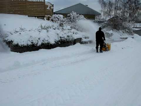 Texas Snow Buster 560 Sneslynge.