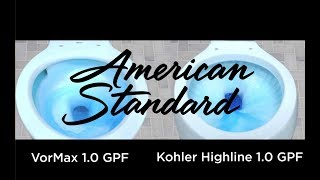 Watch The American Standard VorMax UHET Flushes the Competition