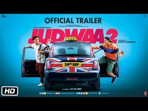 Download Judwaa 2 Official Trailer | Varun Dhawan | Jacqueline | Taapsee | David Dhawan | Sajid Nadiadwala HD Video