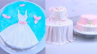 Wedding Dress Cake Decorating Ideas
