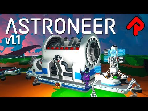 ASTRONEER 1.1 Extra Large Shredder Shreds (Almost) Anything! | Astroneer 1.1 beta