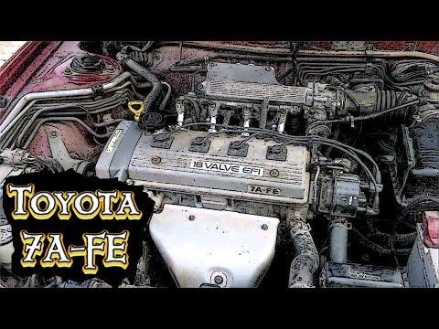Фото к видео: Toyota corolla двс 7A-FE и сново масло
