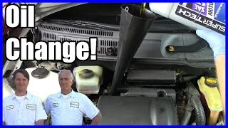 How to Change the Oil and Filter Toyota Prius