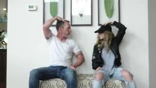 Dad-Daughter Dancing Duo!