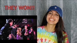 """Final Performance (2) - Pentatonix - """"Give Me Just One Night (Una Noche) by 98 Degrees 