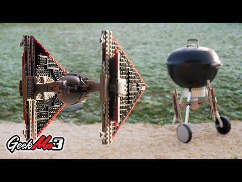 Vidéo LEGO Star Wars 75272 : Le chasseur TIE Sith