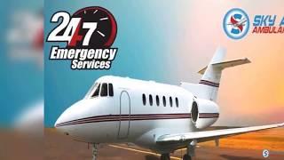 First-Class Medical Setup in Sky Air Ambulance from Mumbai