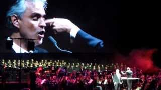 Andrea Bocelli -Mamma - Ülker Arena İstanbul 2014