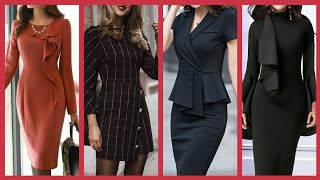 30 Days Office Wear Outfits Ideas For Business Women 2020