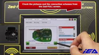 CHRYSLER-DODGE-JEEP Remote Unlocking Application using ZFH-C12 cable
