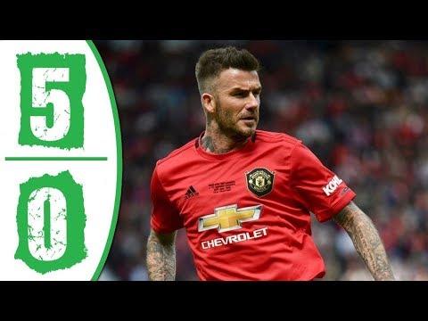 Manchester United Legends vs Bayern Munich Legends 5-0 Highlights & Goals 2019