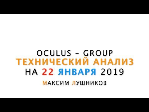 Технический обзор рынка Форекс на 22.01.2019 от Максима Лушникова