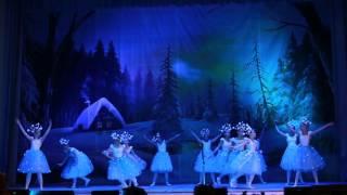 Снежинки. Школа балета Александры Самойловой