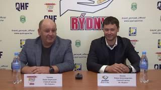 МЛК «Jastar». Пресс-конференция МХК «Gornák» - МХК «Qyran», игры № 38, 42
