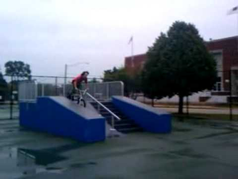 My first time at Arlington Heights skate-park