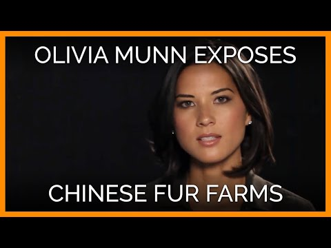 Chinese Fur-Farm Cruelty PETA Ad