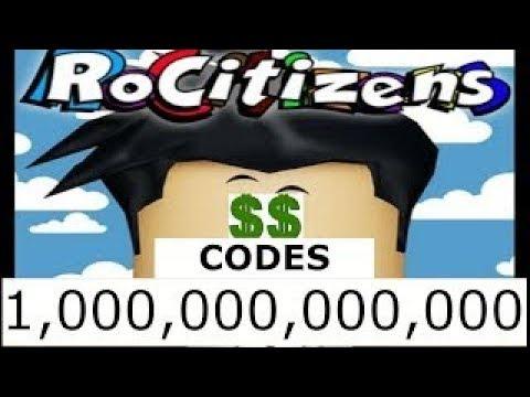 roblox rocitizens codes 2019 march