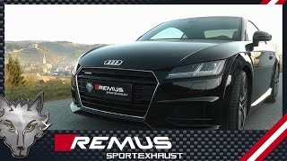 Video: Remus Racing Komplettanlage am Audi TT 8S 2.0 TFSI