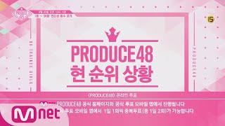 [ENG sub] PRODUCE48 [속보] 프로듀스48 현 순위 상황 (6/20 오전 10시 기준) 180622 EP.2