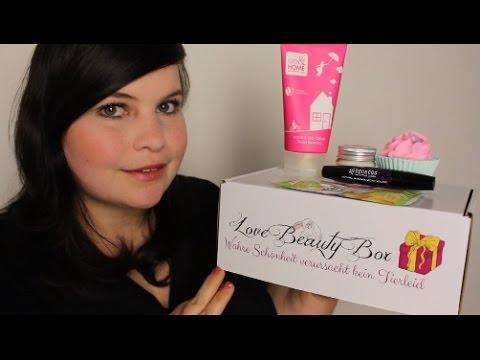 Unboxing LOVE BEAUTY BOX April - vegan+tierversuchsfreie Kosmetikbox