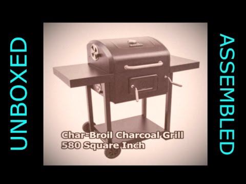 Char-Broil Charcoal Grill, 580 Square Inch Review Watch before buying.