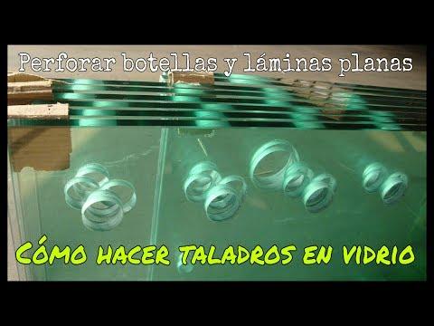 CÓMO HACER ORIFICIOS EN VIDRIO O CERÁMICA (BOTELLAS, BOTES, AZULEJOS, ETC)