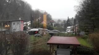GRAZ, die brandgefährliche Steinbergstrasse - Fein