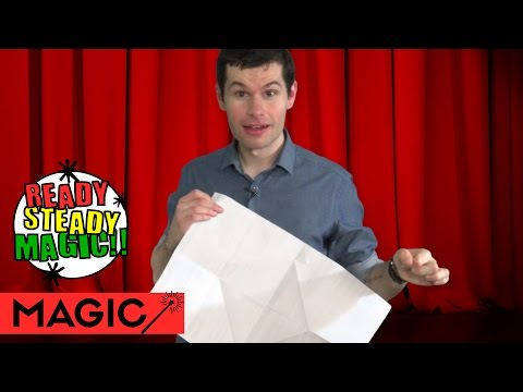 Magic Gift Paper Torn and Restored | Ready Steady Magic