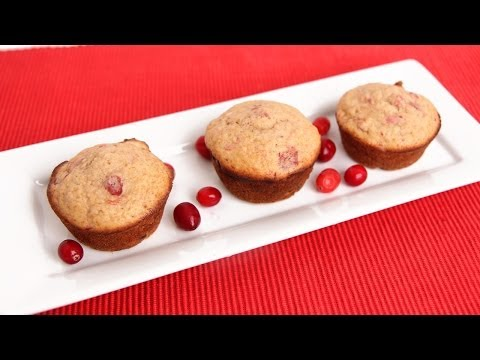 Cranberry Sauce Muffins Recipe – Laura Vitale – Laura in the Kitchen Episode 680