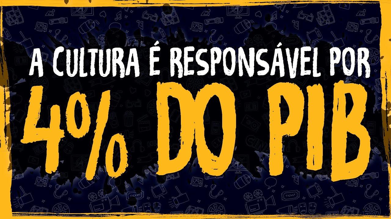 Cultura é Responsável por 4% do PIB Nacional