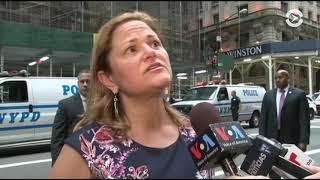 Нью-Йорк встретил Трампа протестами
