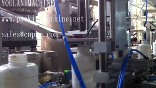 preview picture of video 'Pesticide liquid filling machine'