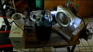 My Tesla Coil Rotary Spark Gap experiments....(video #2)