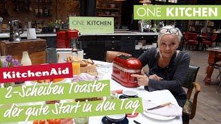 KitchenAid Artisan 2-Scheiben Toaster 5KMT2204 - kleines Genie | by One Kitchen