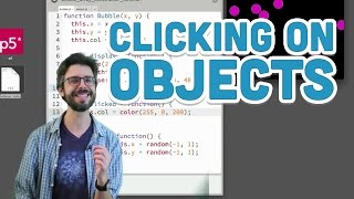 7.6: Clicking on Objects - p5.js Tutorial