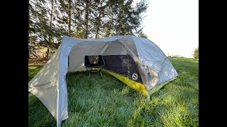 Initial Review of the Big Agnes Blacktail 2 Hotel Bikepacking Tent