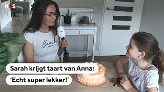 WINNAAR: Eerst een knuffel van Máxima en nu taart van Anna voor huilende Sarah (9)