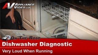Electrolux - Frigidaire Dishwasher Diagnostic - Making loud noise when running - - GLD2445RFC2