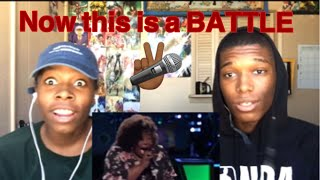 "The Voice Kymberli Joye Battles OneUp ""Mercy"" REACTION!!!"