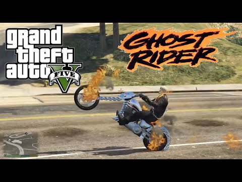 Download Gta 5 A Day With Ghost Rider Video 3GP Mp4 FLV HD