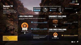 Season 10 Week 2 Solo Challenge 2 Completed - Ghost Recon Wildlands