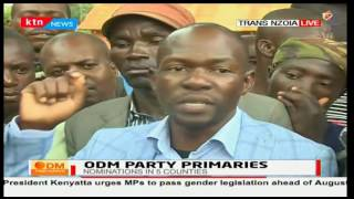 Sabatia Aspirants accuse other aspirants of compromising the nominations in their favour