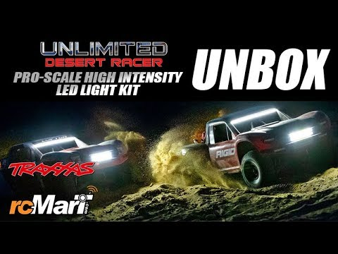 Traxxas New Pro-Scale High Intensity LED Light Kit For UDR Unbox