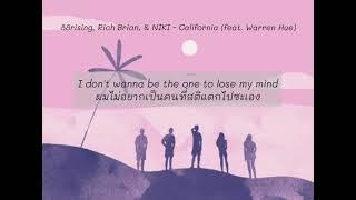 California - 88rising, Rich Brian, & NIKI - California (feat. Warren Hue)《ThaiSub》