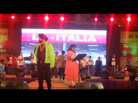 RJ/ Anchor Shiney Hosting A Wedding Event At GOA Along with very famous singer King RAJA Hasan