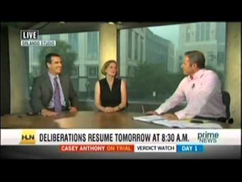 Meg Strickler on HLN Prime News with Vinnie Politan on July 4, 2011 discussing Casey Anthony
