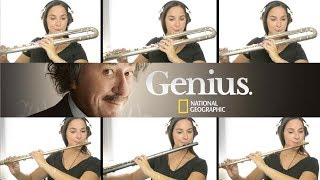 Genius Main Theme on Flute + Sheet Music!