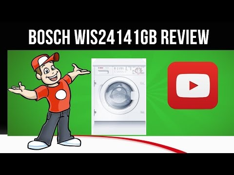 Bosch WIS24141GB - Integrated Washing Machine - WIS24141GB Review